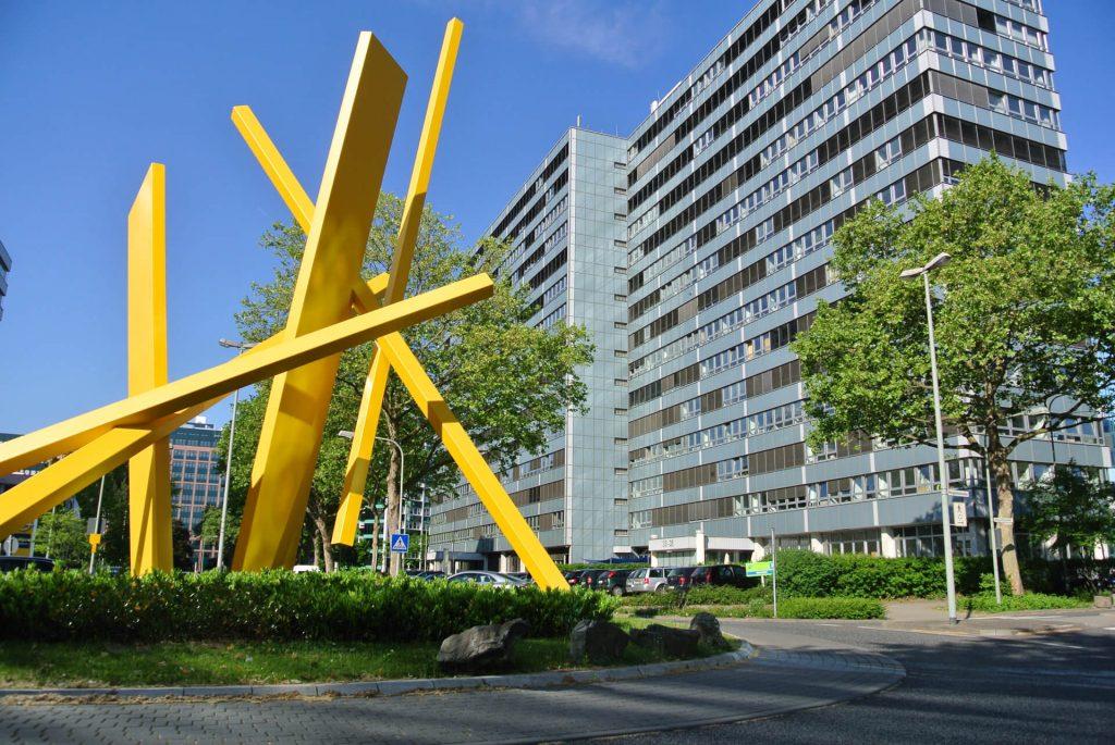 Gebäude des Bundesamts für Wirtschaft und Ausfuhrkontrolle (BAFA) in Eschborn